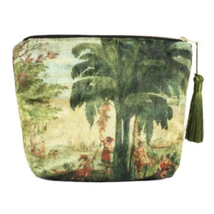Pacifique Velvet Cosmetic Bag
