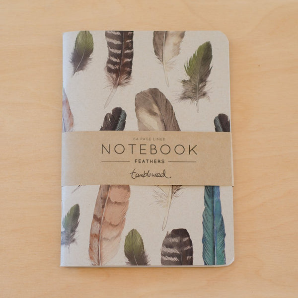 Notebook - feathers