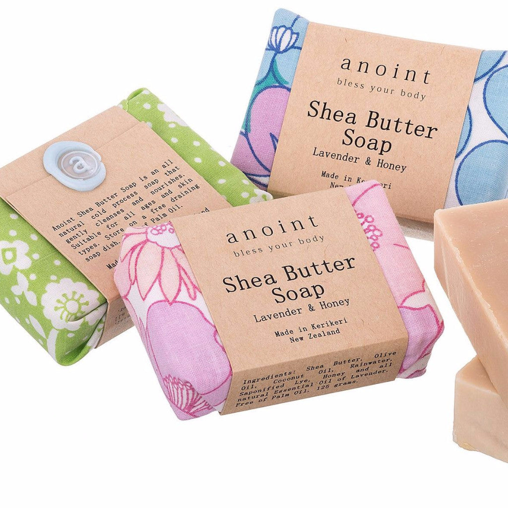 Shea Butter Soap - Lavender & Honey