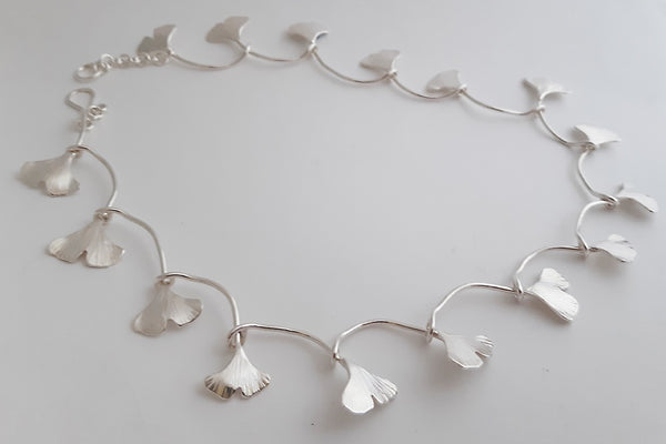 Ginkgo Chain necklace