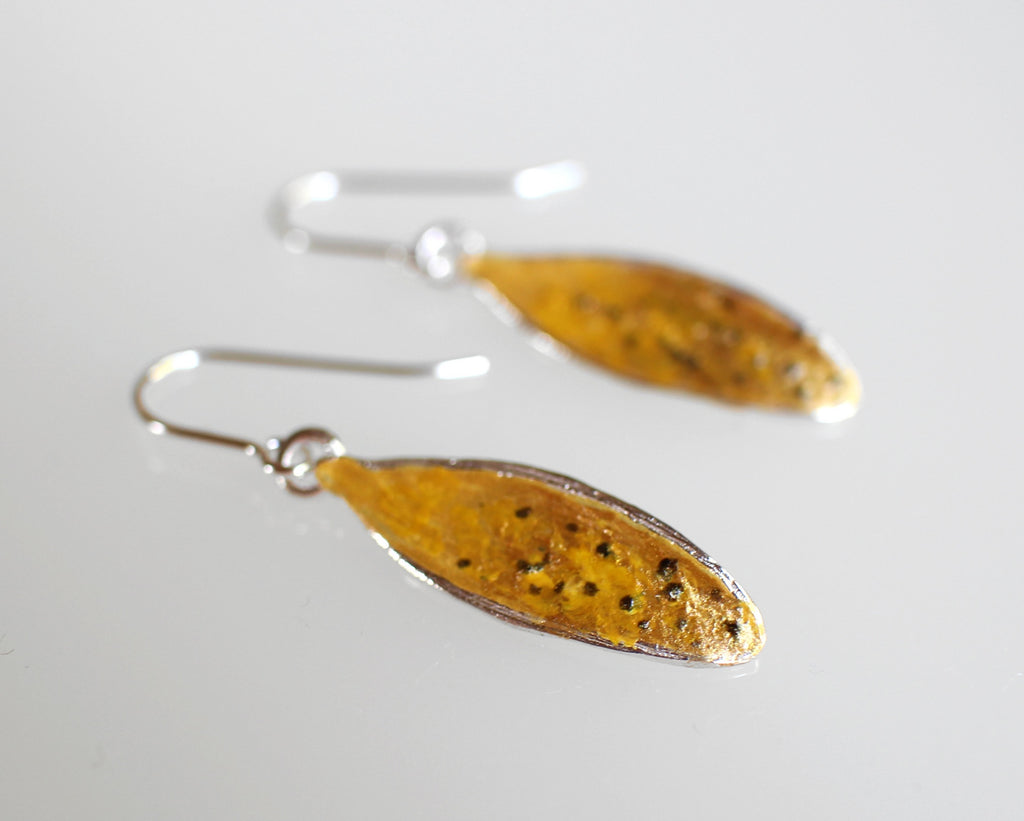 Kauri Leaf Earrings