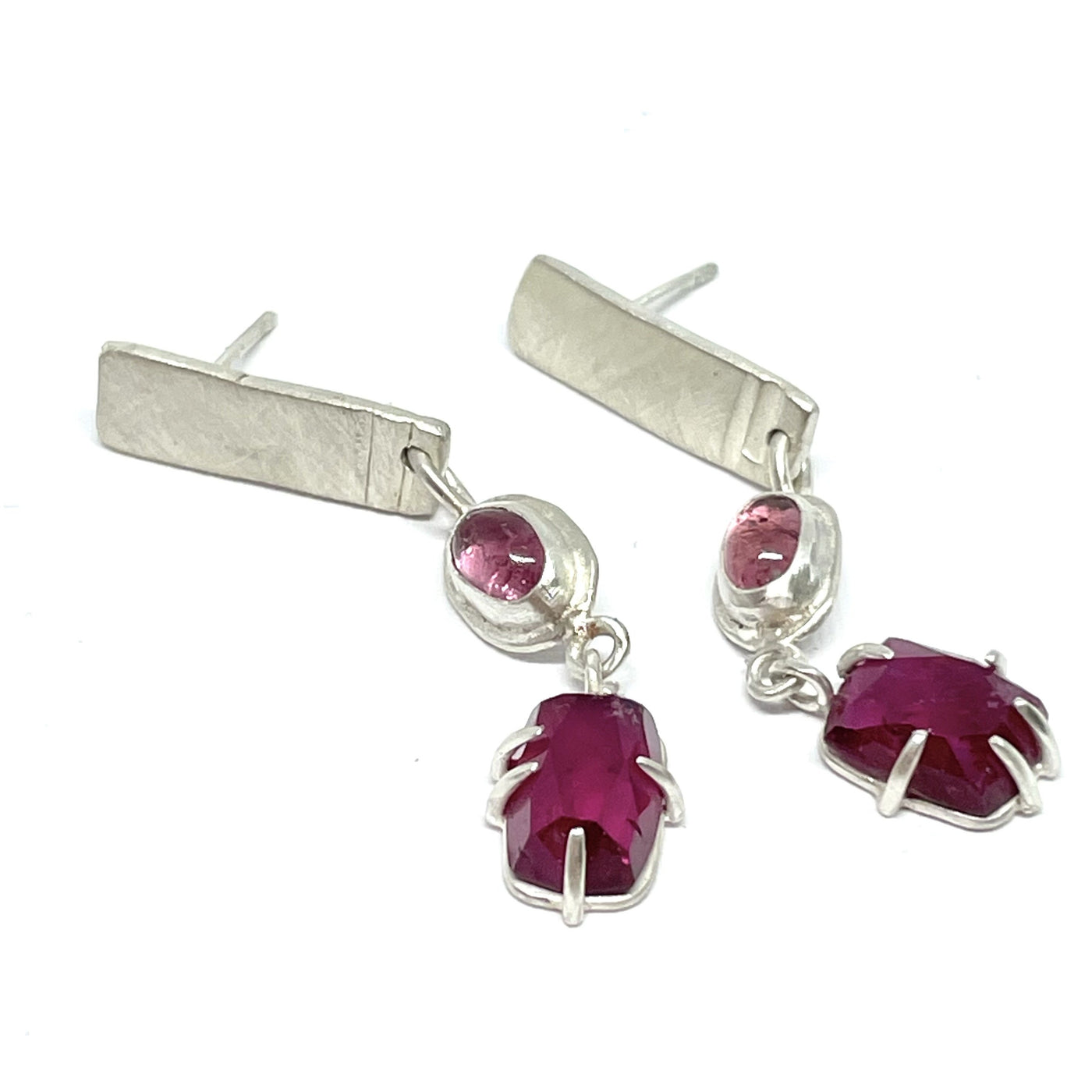 For Pink Wednesdays earrings