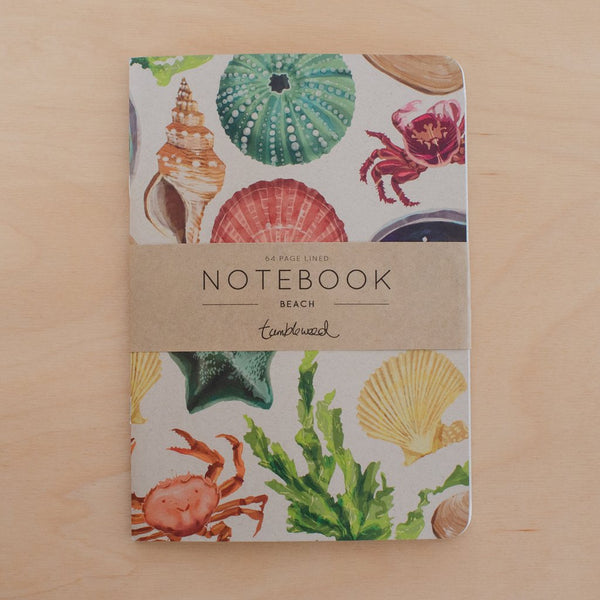 Notebook - beach