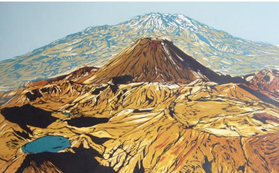 Large Tongariro Crossing - print