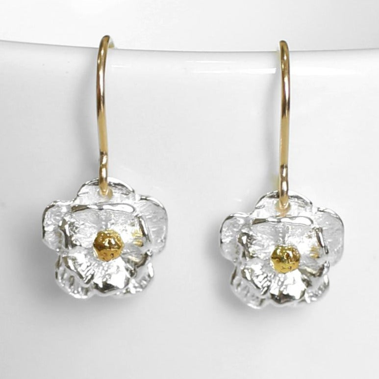 Mt Cook Lily drop earrings