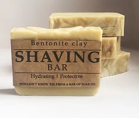 Shaving Bar with Bentonite Clay