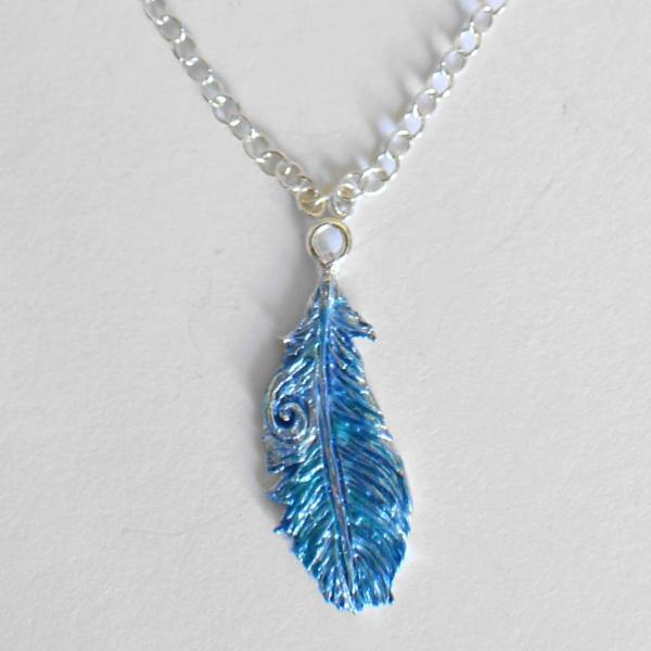 Takahe feather necklace
