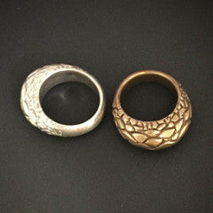 Bronze Tuatara Ring