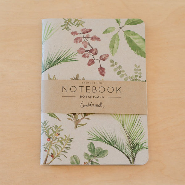 Notebook - botanicals
