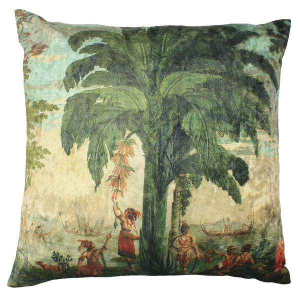 Pacifique Velvet Cushion