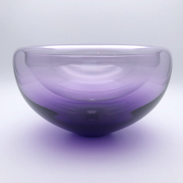 Double walled glass bowl - Hyacinth