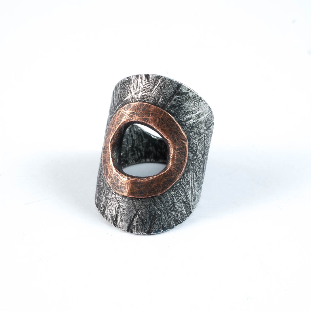 Alum rivet ring