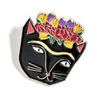 Enamel Pin - Frida Catlo