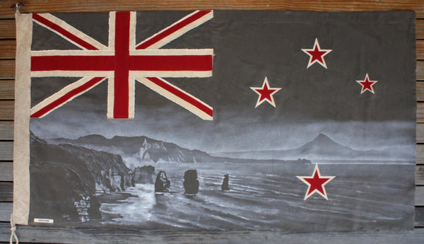 Olive Three Sisters Flag