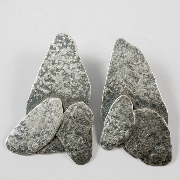 Riverbed earrings - small ox