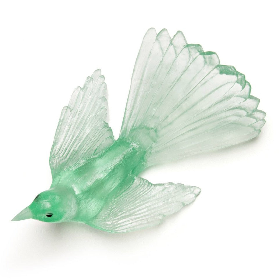 Fantail - Pale Emerald Green