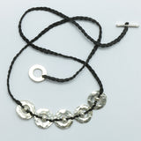 Silver (5) Orbit Necklace