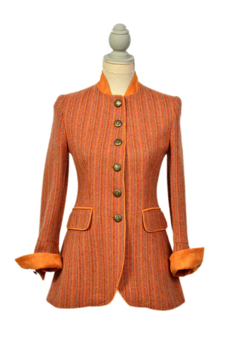 Baverian Orange Multi Stripe Jacket