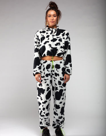 Cow fleece tracksuit