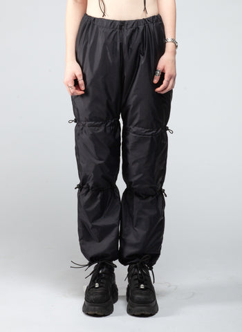Nylon toggle pants