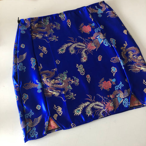 Split dragon skirt