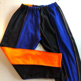 Overlock fleece pants