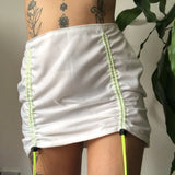 Nylon toggle skirt