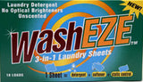 WashEZE Unscented 40 Count (Great Value)
