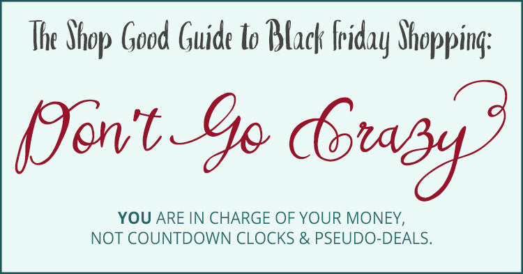 Black Friday Tensions: A Sensible Approach to Discount Shopping