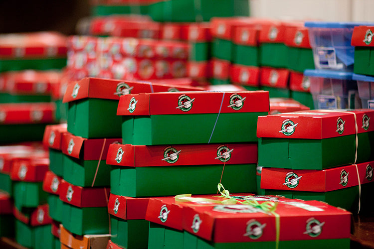 Christmas Shoebox.Weighing In On The Shoebox Backlash 9 Conversation Points