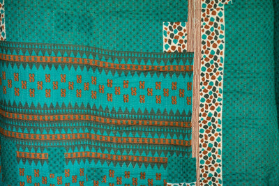 Generosity No. 1 Kantha Large Throw