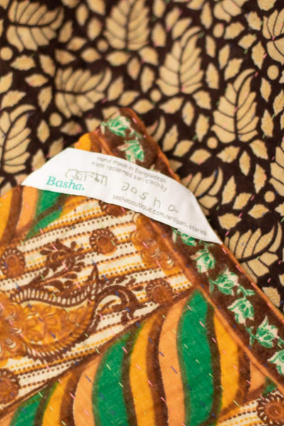 Generosity No. 4 Kantha Large Throw