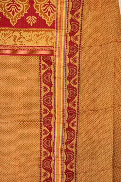 Generosity No. 5 Kantha Large Throw