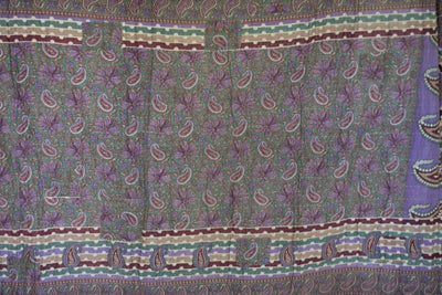 Journey No. 13 Kantha Large Throw