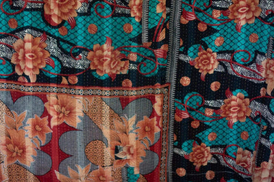 Inspire No. 4 Kantha Large Throw
