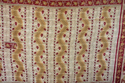 Journey No. 12 Kantha Large Throw