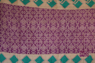 Steady No. 1 Kantha Large Throw