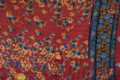 Steady No. 5 Kantha Large Throw
