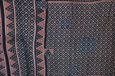 Steady No. 7 Kantha Large Throw