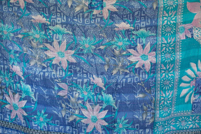 Steady No. 8 Kantha Large Throw