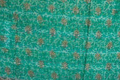 Steady No. 11 Kantha Large Throw