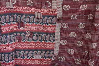 Steady No. 12 Kantha Large Throw