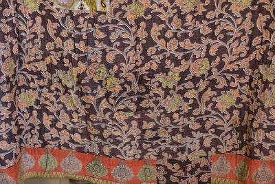 Steady No. 14 Kantha Large Throw