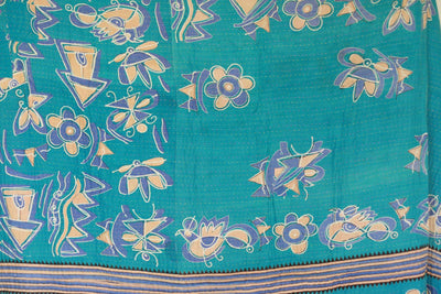Abound No. 8 Kantha Large Throw