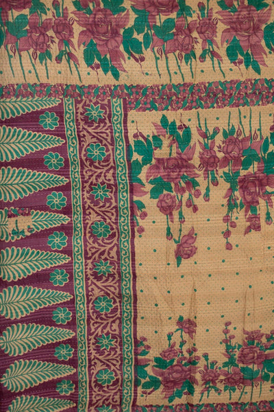 Welcome No. 1 Kantha Large Throw