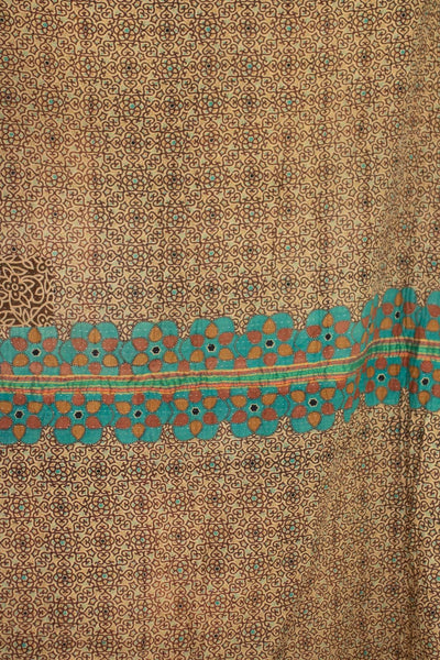 Welcome No. 8 Kantha Large Throw