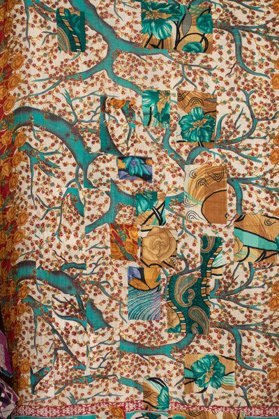 Together No. 5 Kantha Large Throw
