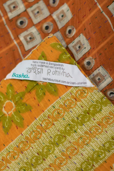 Together No. 8 Kantha Large Throw