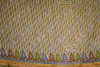 Change No. 1 Kantha Large Throw
