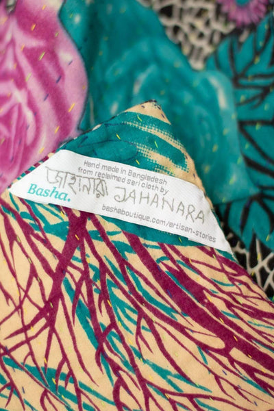 Harvest No. 1 Kantha Large Throw